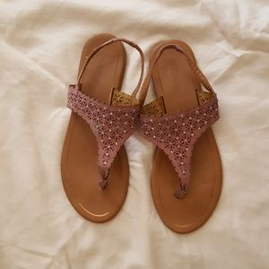 FREE WITH ANY ORDER! Sandals - Rose Pink - Size 10